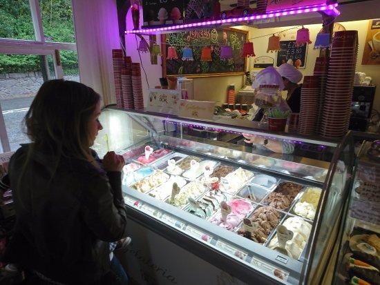 Bala, UK: The ice cream