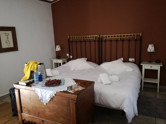 Casa Rural El Aguila: Buenas camas