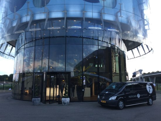 Entrance And Shuttle Bus Picture Of Fletcher Hotel Amsterdam