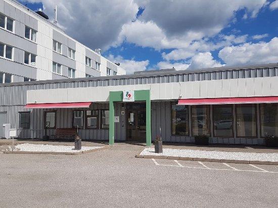 Nyköping, Suecia: Ingang hotel