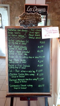 Lawrenceville, NJ: Friday's specials look good. It's a holiday weekend, go out to eat or have it delivered and rela