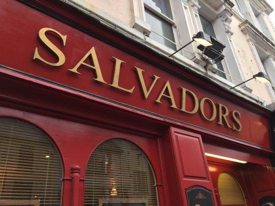Salvador's Restaurant : Extensive menu.  No willing to adjust dish for allergies when busy.