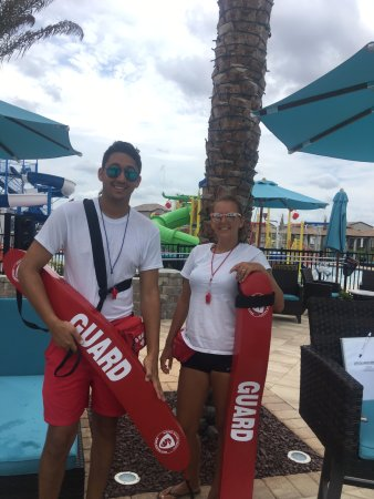 Haines City, FL: Our lifeguards at Balmoral!