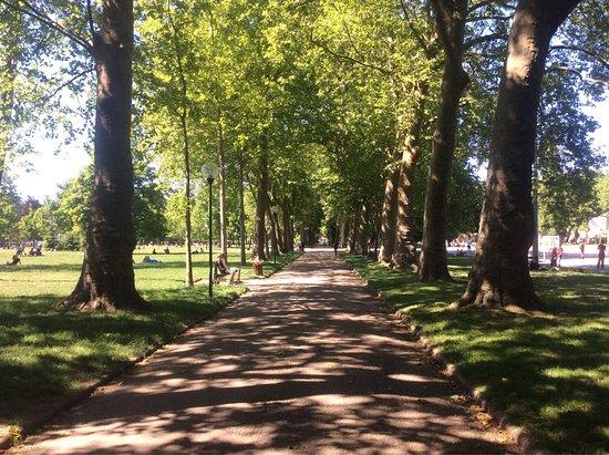 Picture of parc de la pepiniere nancy for Pepiniere