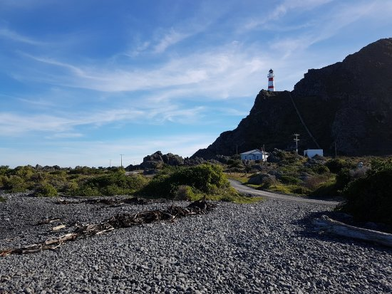 Wairarapa, Nueva Zelanda: Cape Palliser Lighthouse