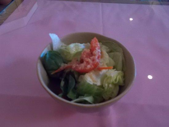 Suehiro Japanese Restaurant, N. Main St, Pueblo CO. Salad.