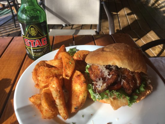 Castara, Tobago: Delicious Shark & Bake with wedges