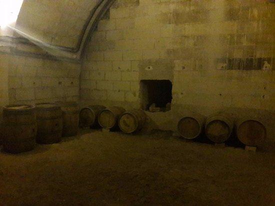 Domain of Chaumont-sur-Loire: Cave