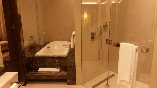 شيراتون دبي مول فندق الإمارات: Shower (too big) :-)