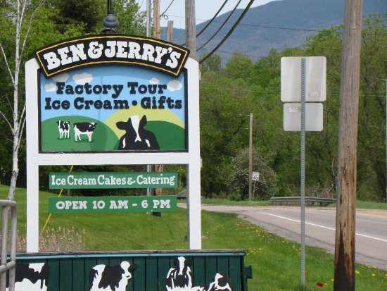 South Hero, VT: Ben & Jerry's is a must stop