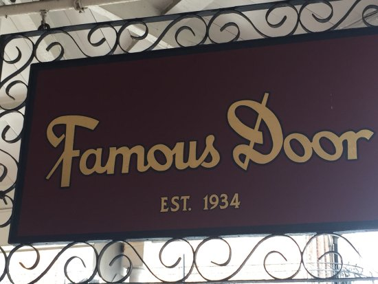 Famous Door New Orleans: Great Live Music Cold Brews