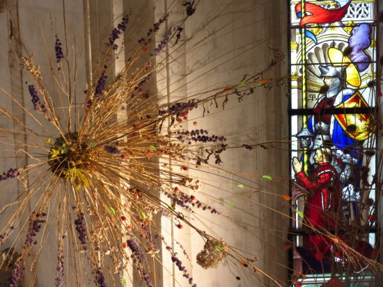 Centre, Prancis: Contemporary art in the chapel