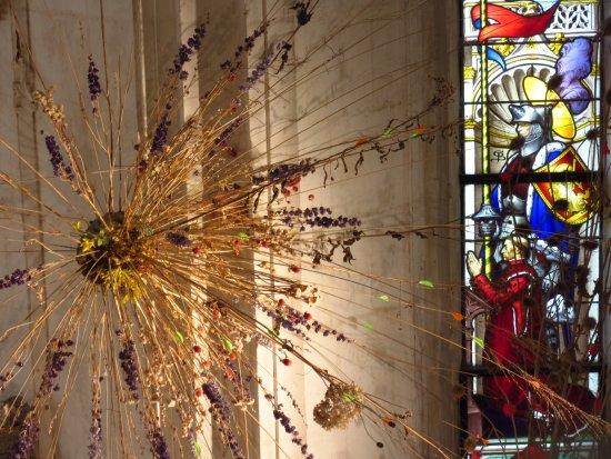 Centre-Val de Loire, France: Contemporary art in the chapel