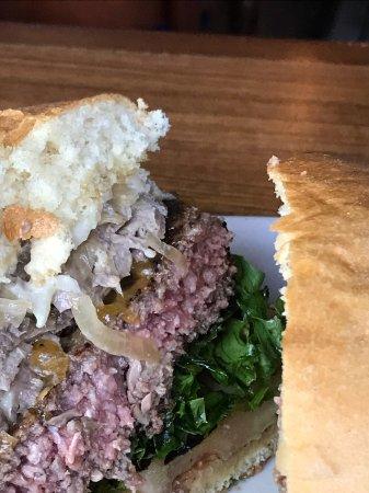 Newnan, GA: Prime rib burger