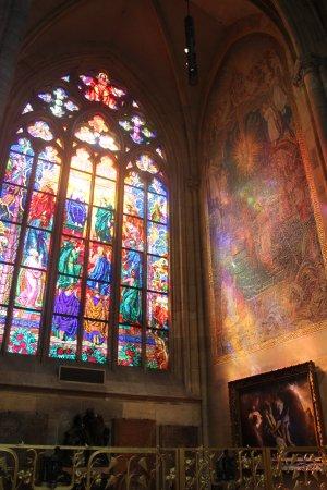 Собор Святого Вита: inside of st.vitus cathedral