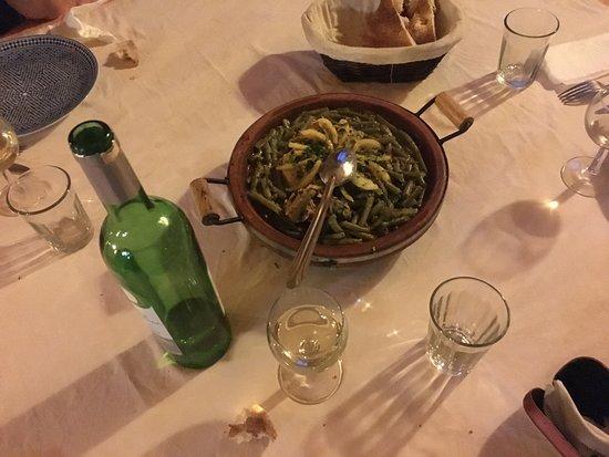 Auberge Ksar Sania: Tajine de pollo