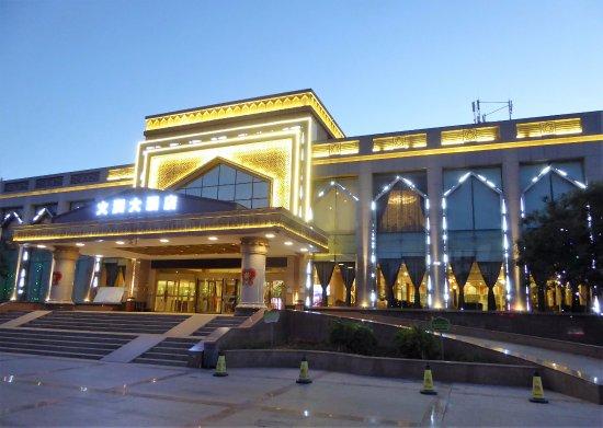 Turpan, Çin: Exterior do hotel