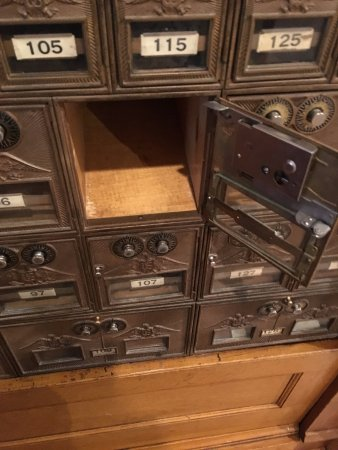 Western Heritage Center: Old Mailboxes