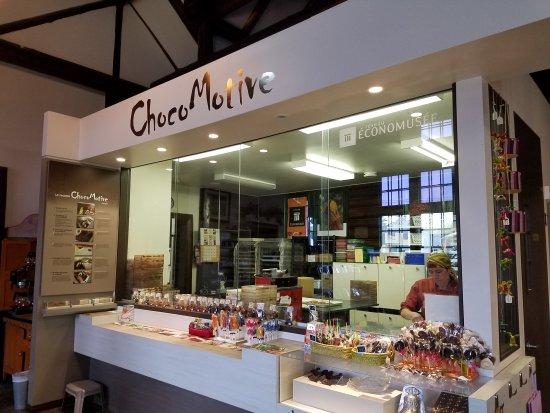 Montebello, Canada: ChocoMotive