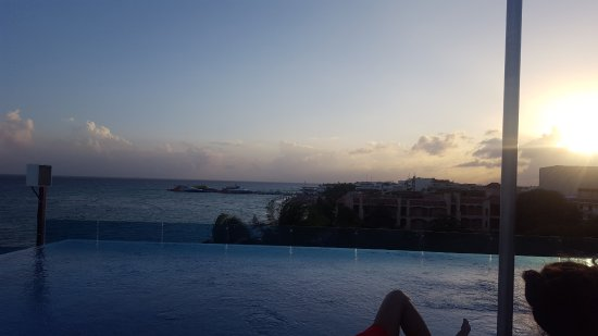 The Carmen Hotel: View from the pool deck