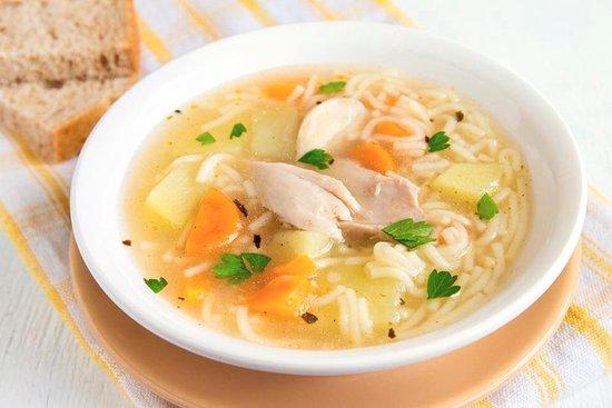 Milford, CT: Sopa de pollo