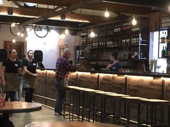Palmerston North, New Zealand: Bar area