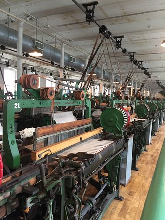 Lowell, MA: Inside the Boott Cotton Museum
