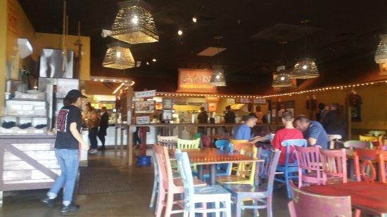 Cafe Rio: Main Dining area