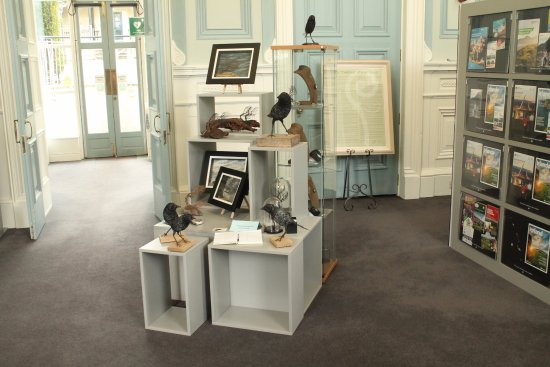 Armagh Visitor Information Centre: Artworks on sale.