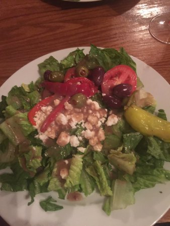 Sausage and peppers GF, Eggplant Parm, Greek Salad ...