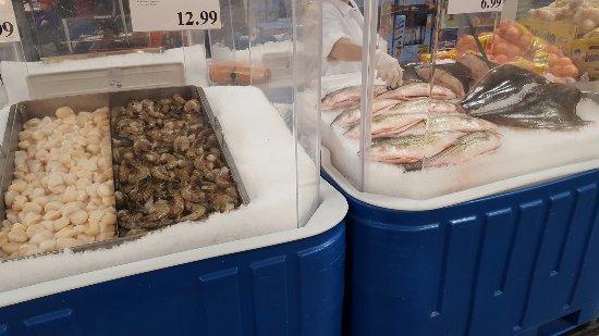 Fresh Shrimp & Whole Fish - Picture of Costco, San Diego