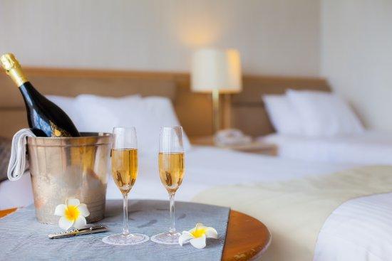 Hotel East China Sea : 3月リニューアル ハイフロアルームにて