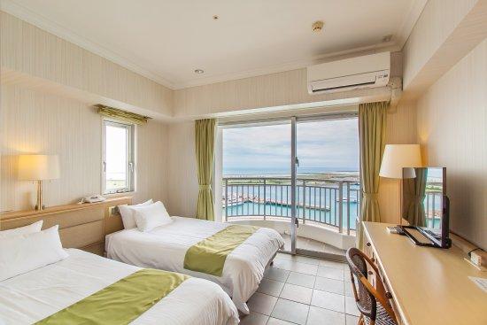 Hotel East China Sea : 2017年3月リニューアル ハイフロアジュニアツイン(10~12F限定)