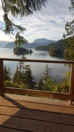 West Coast Wilderness Lodge: The view from room 202