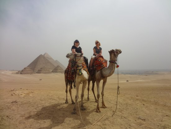 Ramasside Tours: seeing pyramids on a camel - so much fun