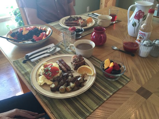 Red Lodge, MT: Breakfast
