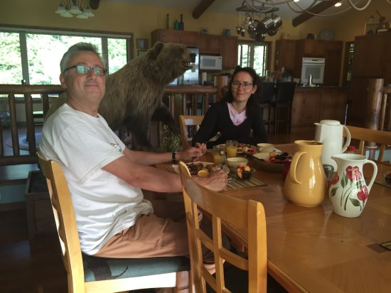 Red Lodge, MT: Our guests from Italy