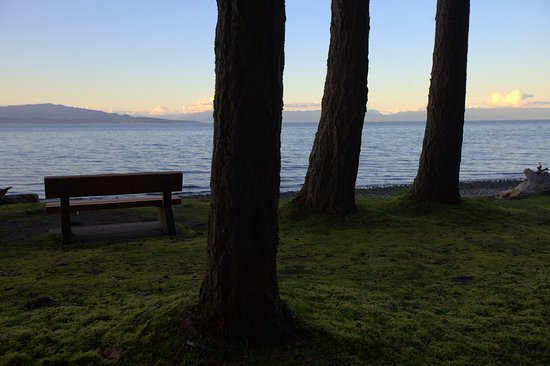 Parksville, Canada: Taking in the views at Rathtrevor