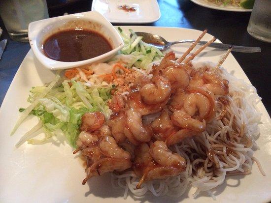 Canton, MA: Shrimp with vermicelli