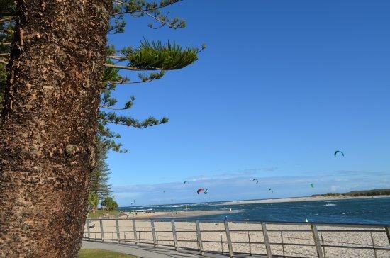 Cerulean Apartments: Kite Surfing