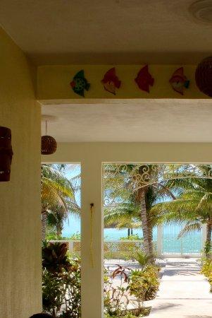 Casa de Celeste Vida: Right on the beach