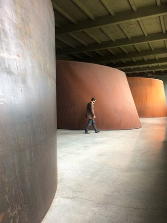 Beacon, NY: Richard Serra (this is at the lower level)