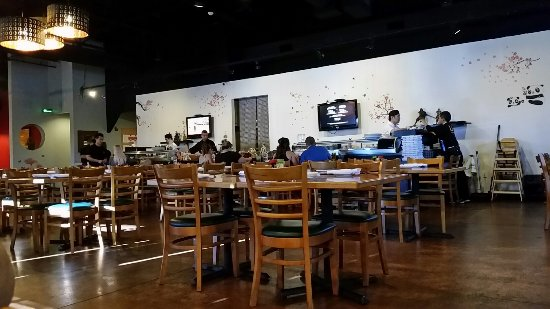 Surprise, AZ: dining room with sushi bar