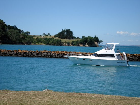Whangaparaoa, New Zealand: Entrance to Gulf Harbour Marina