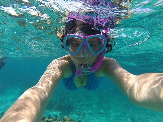 Ambergris Caye, Belize: Water Clarity Perfection