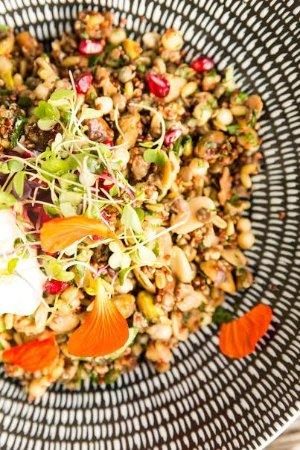 Prahran, Australia: ancient grain and pomegranate salad