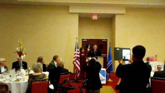 Killeen, Teksas: Oath of Allegiance for new US Citizen