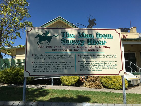 Corryong, Australien: The Legend of the Man from Snowy River