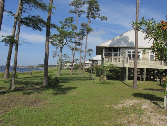 Gulf state park cottages gulf shores al campingplads for Gulf shore cottages