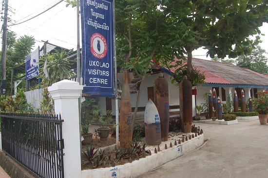 UXO Laos Visitor Center: front